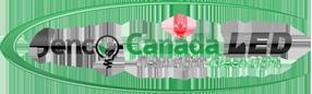 JencoCanada.ca logo lightbulb and swoosh